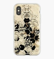Vinilo o funda para iPhone Space Bee