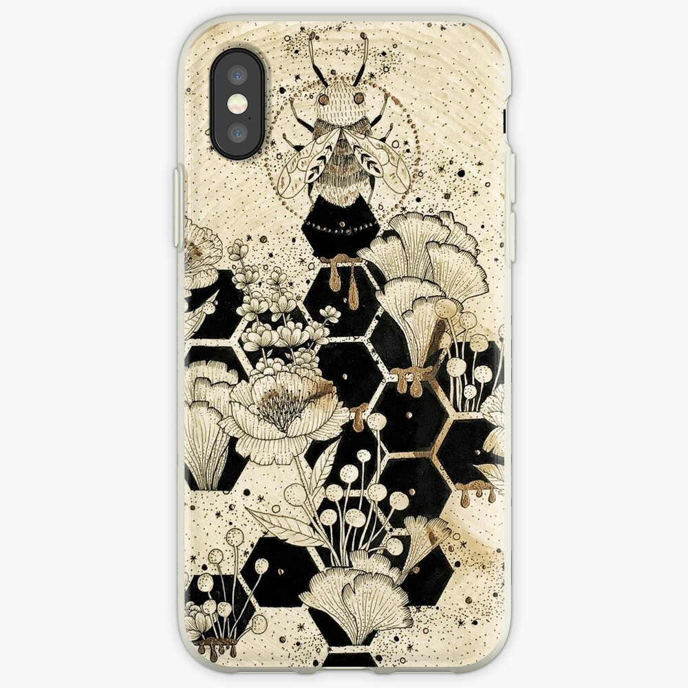 Space Bee iPhone Cases & Covers