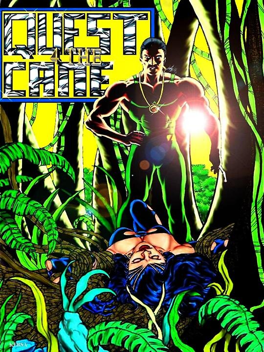 Quest For The Cane: Issue 5 by Kersa