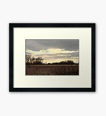 Saskatchewan Sunset 1 Framed Print