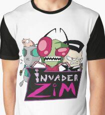 Invader Zim Graphic T-Shirt