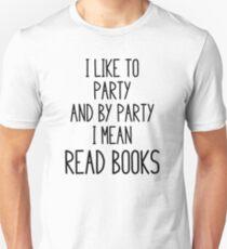 Camiseta ajustada Leer libros