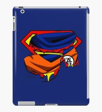 superman vs goku iPad Case/Skin
