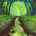 'Blue Ridge Rumination #36'' by Jerry Kirk