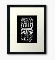 Bruce Springsteen - Thunder Road Framed Print