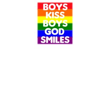 Boys Kiss Boys by humanitydesigns