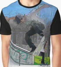 Skateboarding Fool Graphic T-Shirt