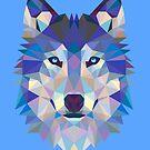 Geometric Wolf by EsotericExposal