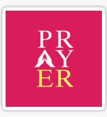 Prayer (Coloured) Sticker