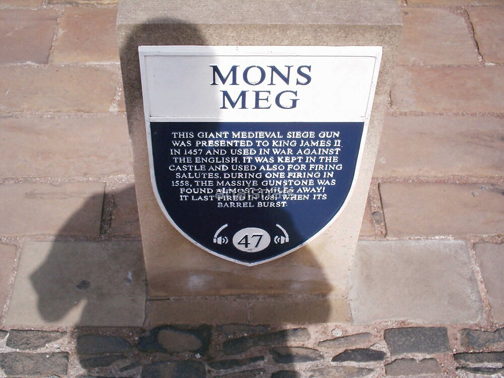 Plaque of Mons Meg, previously posted by anaisnais