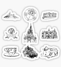 Elements of Magic Sticker