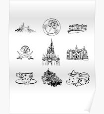 Elements of Magic Poster