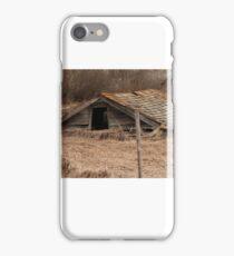 Collapsed Barn iPhone Case/Skin