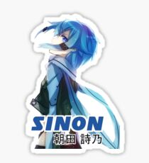 sinon Sticker