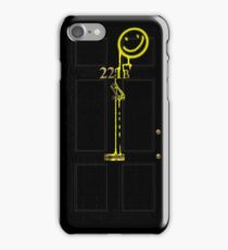 Smile! You're at 221B - yellow iPhone Case/Skin