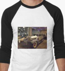 Vintage 1935 7 Passenger Limo, New York City Men's Baseball ¾ T-Shirt