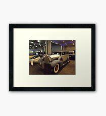 Vintage 1935 7 Passenger Limo, New York City Framed Print