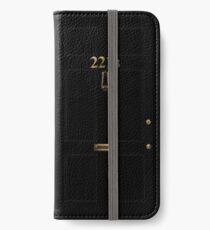 221B iPhone Wallet/Case/Skin