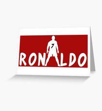 Ronaldo Grußkarte