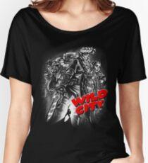 Wild City (B&W) Women's Relaxed Fit T-Shirt