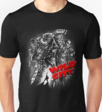 Wild City (B&W) Unisex T-Shirt