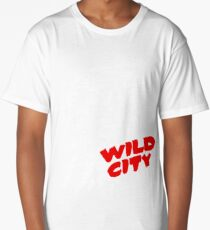 Wild City (B&W) Long T-Shirt