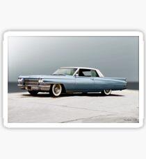 1962 Cadillac Coupe DeVille I Sticker
