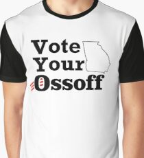 Vote Your Ossoff Graphic T-Shirt