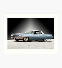 1962 Cadillac Coupe DeVille II Art Print