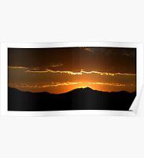 Saratoga Springs Sunset Poster