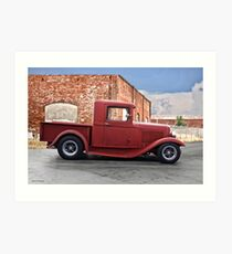 1930-31 Ford Model A Pickup II Art Print