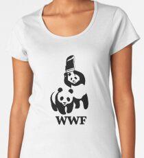 WWF Parody Women's Premium T-Shirt