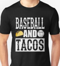 Baseball and Tacos Funny Taco T-Shirt