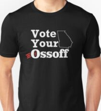 Vote Your Ossoff Unisex T-Shirt