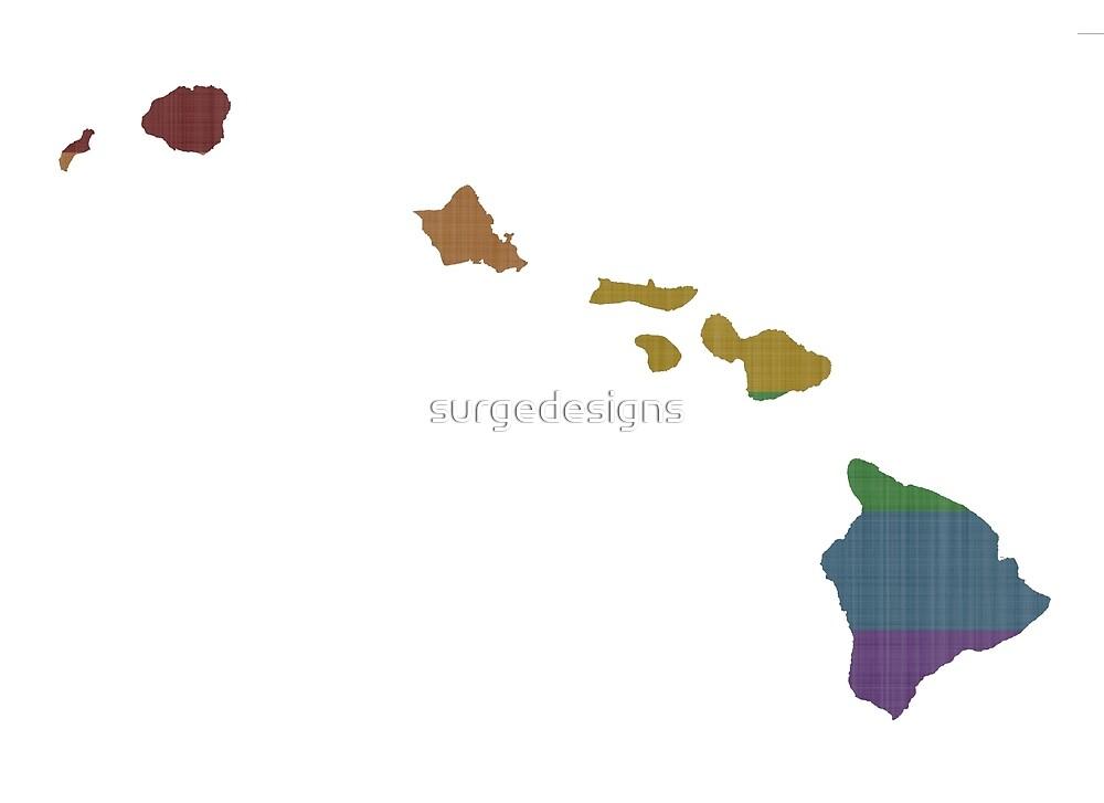 Hawaii Rainbow Gay Pride by surgedesigns