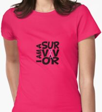 I am a Survivor - Pink Ribbon T-Shirt