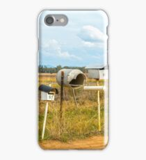 Rural Letter Boxes.... iPhone Case/Skin