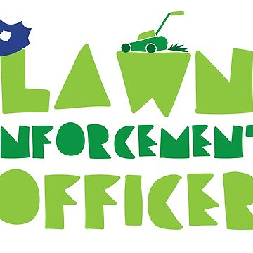 LAWN enforcement officer by jazzydevil