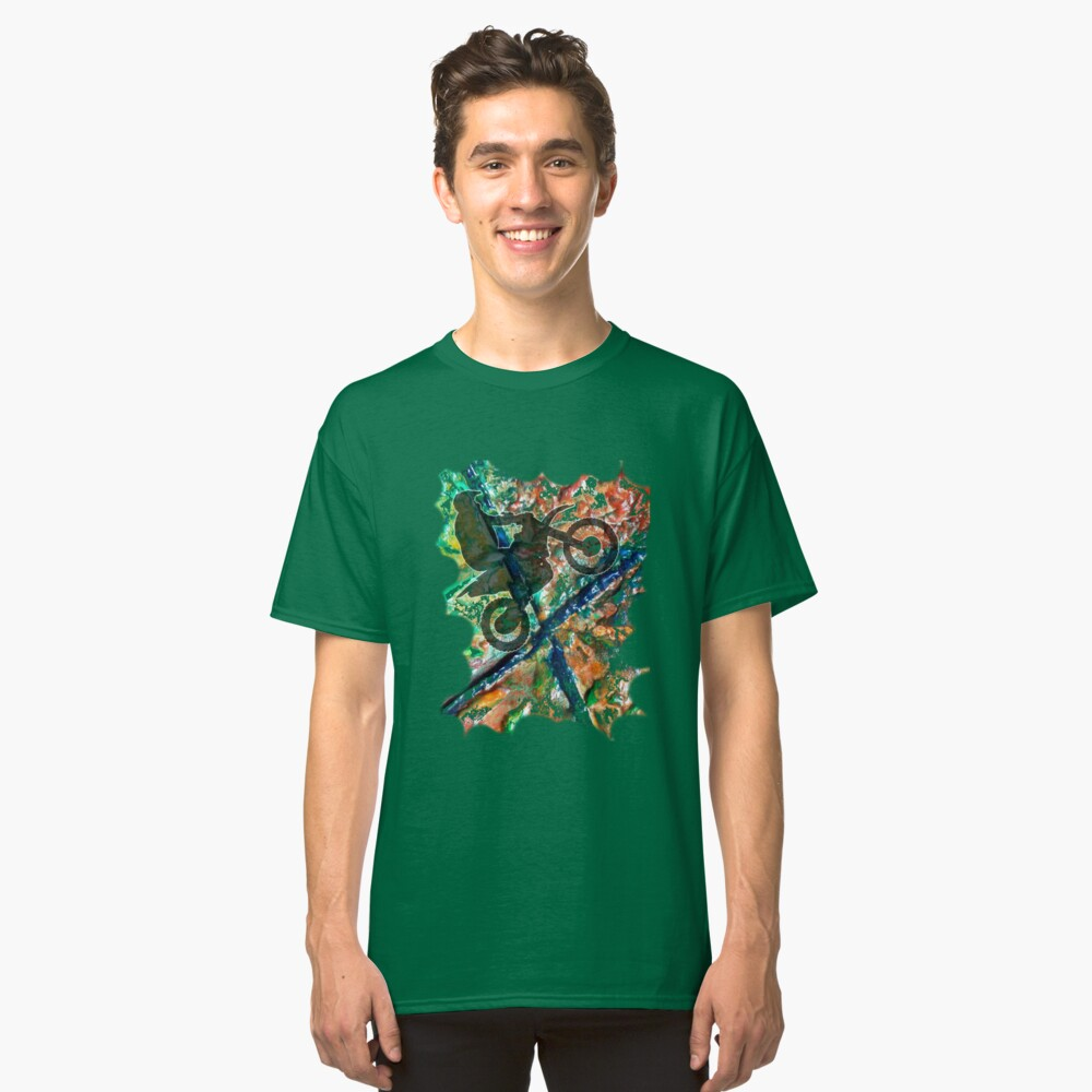 FULL THROTTLE BIKER Classic T-Shirt