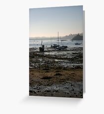 Solidor Port by the Barrage  Greeting Card