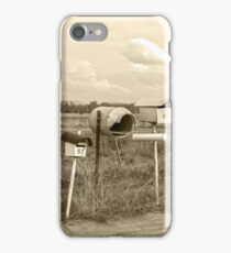 Rural Mail boxes.. iPhone Case/Skin