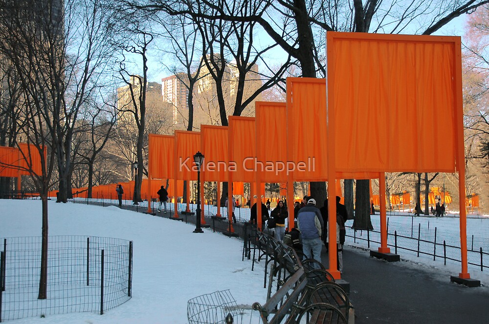 The Gates at Central Park by Kalena Chappell
