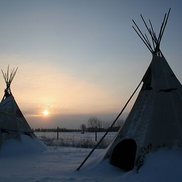 PLAINS CREE TIPI by umpa1