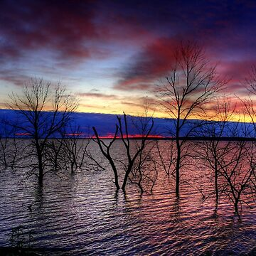Sunrise on Devil's Lake, USA by umpa1