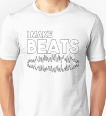 I Make Beats Audio Engineer Unisex T-Shirt