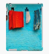 Blue Wall Hangings iPad Case/Skin