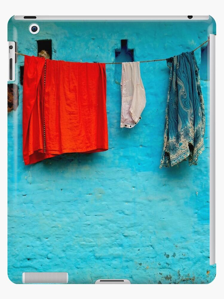Blue Wall Hangings by Valerie Rosen
