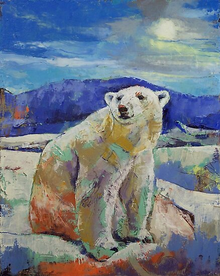 Polar Bear Sun by Michael Creese