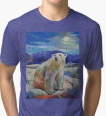 Polar Bear Sun Tri-blend T-Shirt