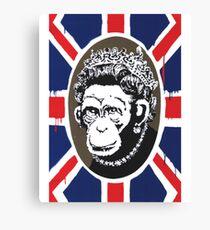 Prince Monkey Canvas Print
